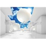 Vliesové fototapety 3D nebo rozmer 368 cm x 254 cm