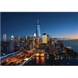 Vliesové fototapety New York Manhattan rozmer 254 cm x 368 cm