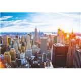Vliesové fototapety ranný Manhattan rozmer 254 cm x 368 cm
