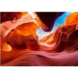 Vliesové fototapety Antelope Canyon Arizona rozmer 368 cm x 254 cm