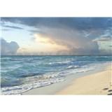 Vliesové fototapety piesočná pláž rozmer 368 cm x 254 cm