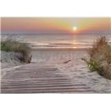 Vliesové fototapety východ slnka u mora rozmer 368 cm x 254 cm
