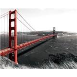 Vliesové fototapety most San Francisco, rozmer 312 cm x 219 cm