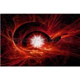 Vliesové fototapety vesmírny Twist, rozmer 416 cm x 254 cm