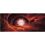 Vliesové fototapety vesmírny Twist, rozmer 250 cm x 104 cm