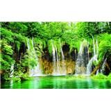 Fototapety vodopád, rozmer 368 cm x 254 cm