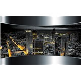Fototapety 3D výhľad na mesto, rozmer 368 cm x 254 cm