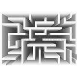 Vliesové fototapety 3D labyrint biely rozmer 416 cm x 254 cm