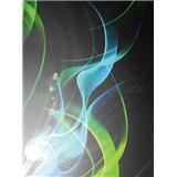 Vliesové fototapety abstrakcie zelená, rozmer 206 cm x 275 cm