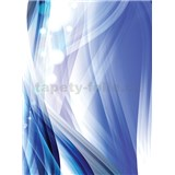 Vliesové fototapety abstrakcie modrá rozmer 206 cm x 275 cm