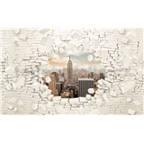 Vliesové fototapety 3D New York rozmer 416 cm x 254 cm