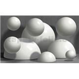 Vliesové fototapety 3D guľa rozmer 416 cm x 254 cm