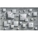 Fototapety 3D štvorce, rozmer 254 cm x 184 cm