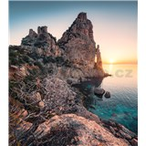 Vliesové fototapety Hefele farby Sardegny, rozmer 250 cm x 280 cm