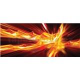 Vliesové fototapety abstrakcie ohnivá rozmer 250 cm x 104 cm