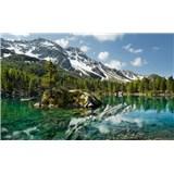 Vliesové fototapety Hefele magické hory, rozmer 450 cm x 280 cm