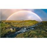 Vliesové fototapety Hefele farebné Faerské ostrovy, rozmer 450 cm x 280 cm