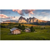 Vliesové fototapety Hefele Dolomity, rozmer 450 cm x 280 cm