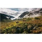 Vliesové fototapety Hefele čisté Nórsko, rozmer 450 cm x 280 cm