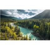 Vliesové fototapety Hefele divoká Kanada, rozmer 450 cm x 280 cm
