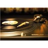 Fototapety gramofónová platňa, rozmer 184 x 127 cm