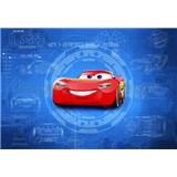 Fototapeta Disney Cars3 Blesk McQueen rozmer 368 cm x 254 cm
