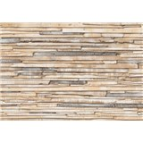 Fototapety obielené drevo, rozmer 368 x 254 cm