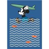 Vliesové fototapety Disney Mickey surfer rozmer 200 cm x 280 cm