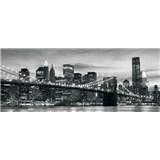 Vliesové fototapety Brooklyn Bridge NY, rozmer 250 x 104 cm