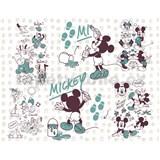 Vliesové fototapety Disney Mickey a priatelia  rozmer 350 cm x 280 cm