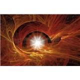 Vliesové fototapety vesmírna hviezda rozmer 416 cm x 254 cm