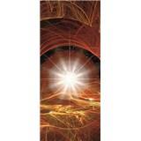 Vliesové fototapety vesmírna hviezda, rozmer 91 cm x 211 cm