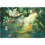 Fototapety Disney Lion King v džungli rozmer 368 cm x 254 cm