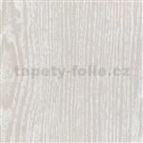 Samolepiace tapety jaseňové biele drevo - renovácia dverí - 90 cm x 210 cm
