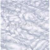 Samolepiace tapety mramor Carrara svetlo modrá 45 cm x 15 m