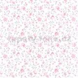 Samolepiace tapety kvety ružové - , metráž, šírka 67,5cm, návin 15m,
