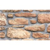 Samolepiace tapety - kamenná stena 90 cm x 15 m