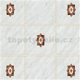 Samolepiace tapety kachličky Miláno sivé 45 cm x 15 m