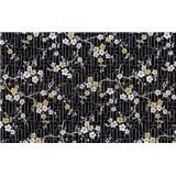 Samolepiace tapety orientálny kvet - 90 cm x 15 m
