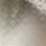Samolepiace tapety - strieborná 45 cm x 5 m