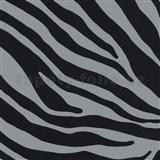 Samolepiace tapety zebra sivá 45 cm x 15 m