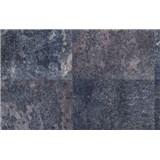 Samolepiace tapety oceľ sivo-modrá 45 cm x 15 m