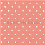 Samolepiace fólie bodky ružové - 45 cm x 15 m