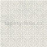 Samolepiace fólie ornamenty svetlo sivé - 45 cm x 15 m
