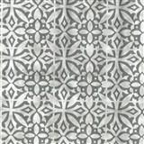 Samolepiace fólie ornamenty sivé - 45 cm x 15 m