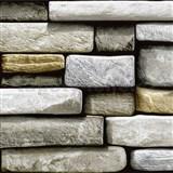 Samolepiace fólie kamene - 45 cm x 15 m