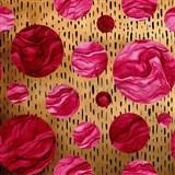 Samolepiace fólie DOTS červené - 45 cm x 5 m