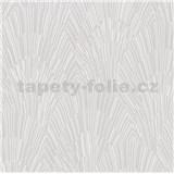 Vliesové tapety na stenu IMPOL Giulia Art-Deco vejárový vzor biely