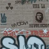 Detské tapety Graffiti - Ltd. Collection - Street Wall - tmavosivá - ZĽAVA