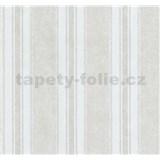 Tapety na stenu Grazioso pruhy hnedo-biele
